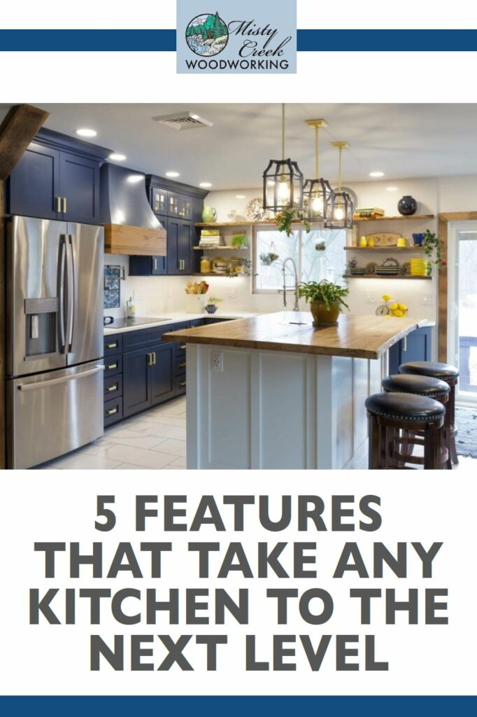 5 features that take any kitchen to the next level Amish-crafted kitchen cabinets in King of Prussia, PA