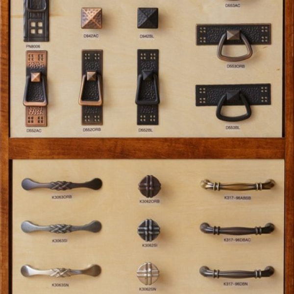 multiple cabinet drawer handle styles and options